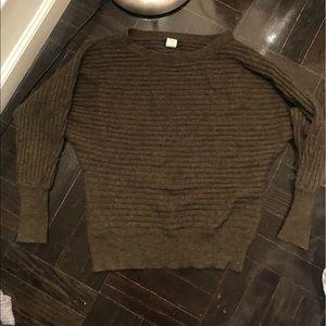 J Crew XS green sweater